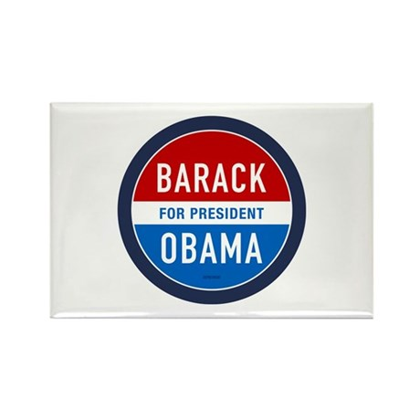 Barack Obama for President Rectangle Magnet (10 pa