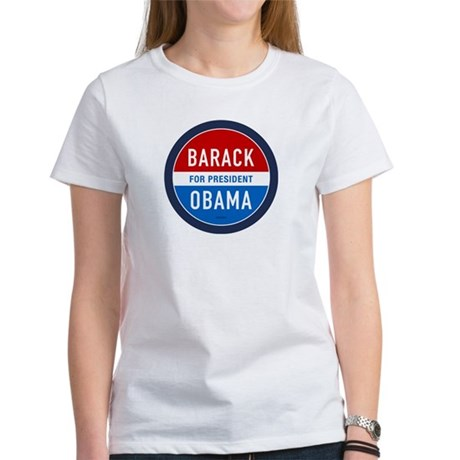 Barack Obama for President Womens T-Shirt