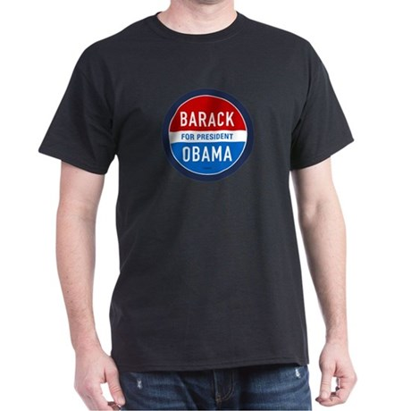 Barack Obama for President Black T-Shirt