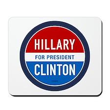 Hillary Clinton for President Mousepad