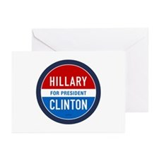 Hillary Clinton for President Greeting Cards (Pack