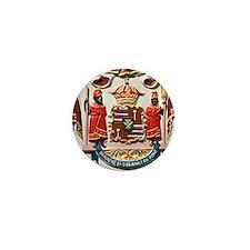 king kamehameha hawaii crest image Mini Button