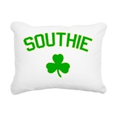 Southie-green Rectangular Canvas Pillow