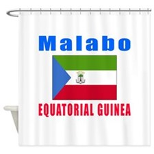 Malabo Equatorial Guinea Designs Shower Curtain