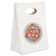 orbitals3 Canvas Lunch Tote