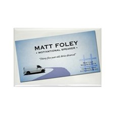 mattfoleybusinesscard Rectangle Magnet
