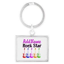 ROCK STAR Landscape Keychain