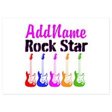 ROCK STAR Invitations