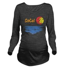 socal Long Sleeve Maternity T-Shirt