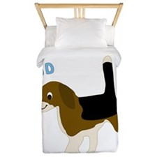 Beagle Dad Twin Duvet
