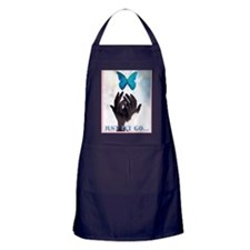 JUST LET GO Apron (dark)