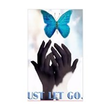 JUST LET GO Decal
