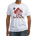 Year of the Pig Fitted T-Shirt