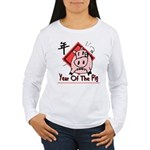 Year of the Pig Women's Long Sleeve T-Shirt