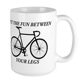 Bicycle Large Mugs (15 oz)