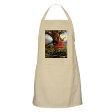 Red Dress Card Apron
