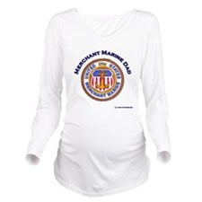 merchant Marine dad.png Long Sleeve Maternity T-Sh