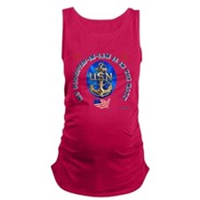 navy daughter-in-law.png Maternity Tank Top