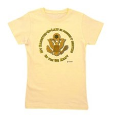 army eagle daughter-in-law.png Girl's Tee
