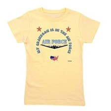 air force grandson.png Girl's Tee