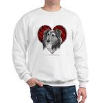 Sheltie Heart Sweatshirt