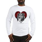 Sheltie Heart Long Sleeve T-Shirt