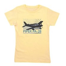 Aircraft Piper PA-28 Girl's Tee