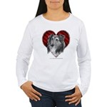 Sheltie Heart Women's Long Sleeve T-Shirt