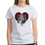 Sheltie Heart Women's T-Shirt