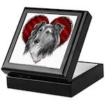 Sheltie Heart Keepsake Box