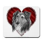 Sheltie Heart Mousepad