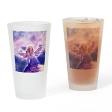 Fairy with Stars Drinking Glass