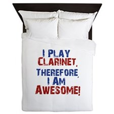 Clarinet copy Queen Duvet