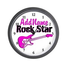 FAMOUS ROCK STAR Wall Clock
