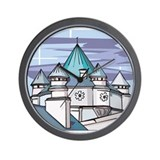 Castle at Night Wall Clock