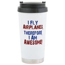 I fly airplanes Travel Mug