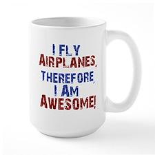 I fly airplanes Mugs
