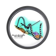 Black-Banded Sea Krait Wall Clock