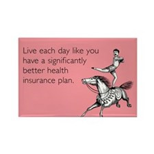 Live Each Day Rectangle Magnet