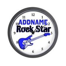 LOVE ROCK N ROLL Wall Clock