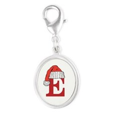 Letter E Christmas Monogram Charms