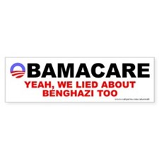Lied About Benghazi Car Sticker