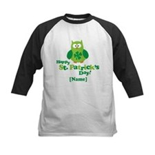 Personalized St Patrick's Day Owl Tee