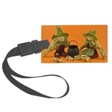 Corn husk dolls Luggage Tag