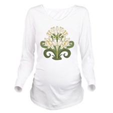 Daffodils Long Sleeve Maternity T-Shirt