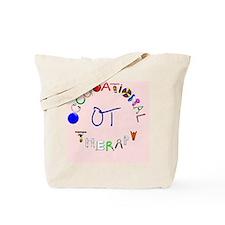ot pink rect 2 Tote Bag