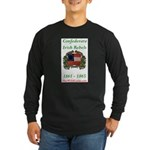 Confederate Irish Long Sleeve Dark T-Shirt
