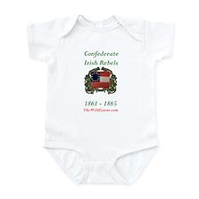 Confederate Irish Infant Bodysuit