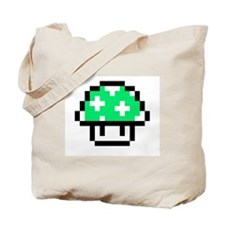 1UP Shroom Tote Bag