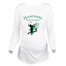 Volleyball2 Long Sleeve Maternity T-Shirt